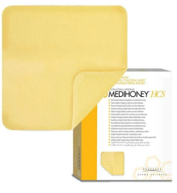 Medihoney™ HCS hidrogelio tvarsčiai